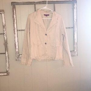 Tan dressy jacket
